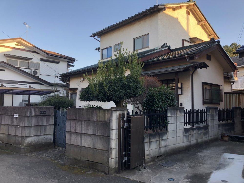 埼玉県川越市上戸で木造2階建ての解体工事をしました。