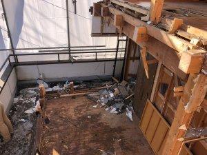 埼玉県川越市で木造3階建ての解体工事をしました。