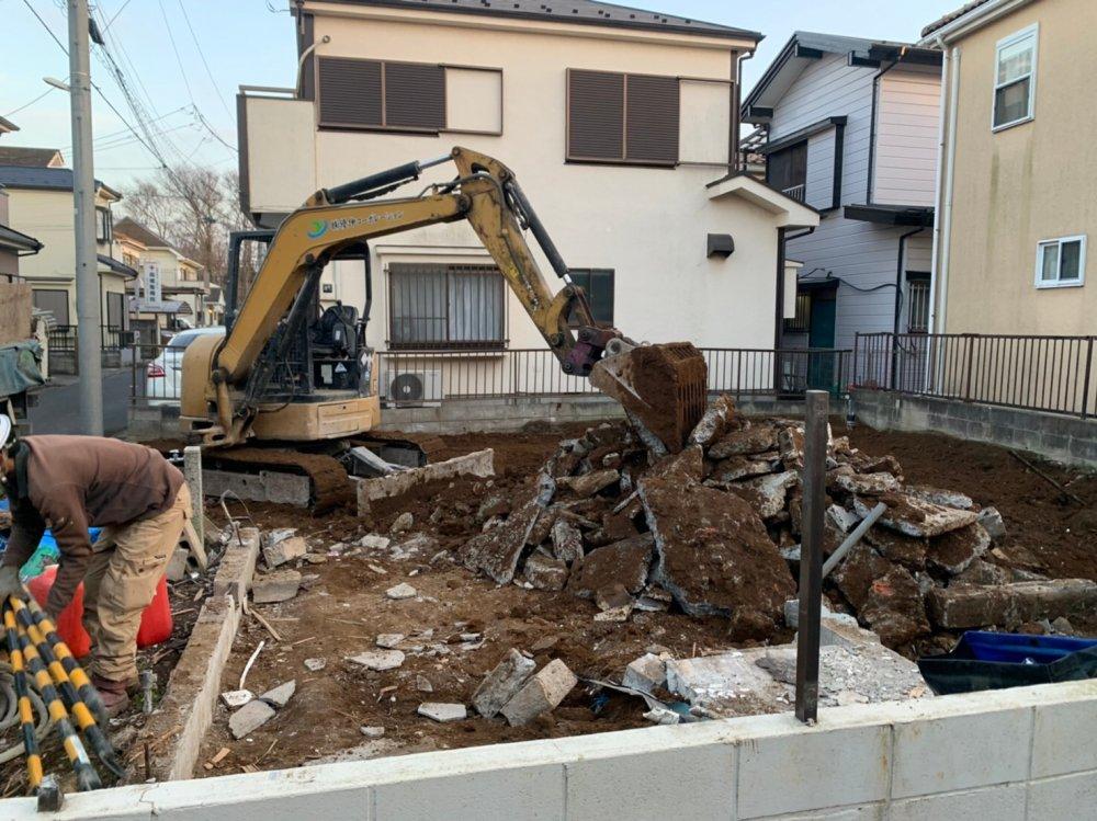 千葉県船橋市咲が丘の木造2階建住宅解体工事 施工事例