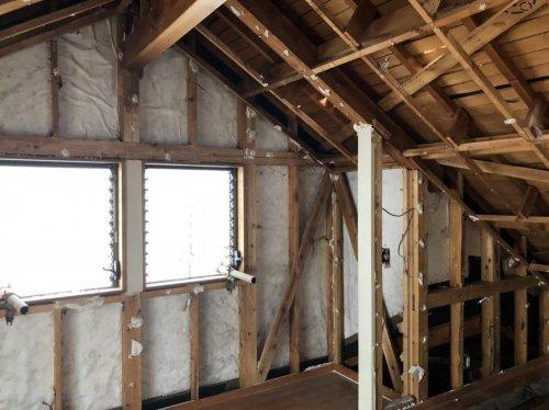 川越市石原町 木造3階建の家屋解体内装解体