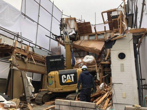 川越市石原町 木造3階建の家屋解体手壊し解体