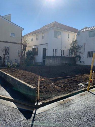 武蔵野市吉祥寺北町 木造解体工事アパート建物解体後の整地作業