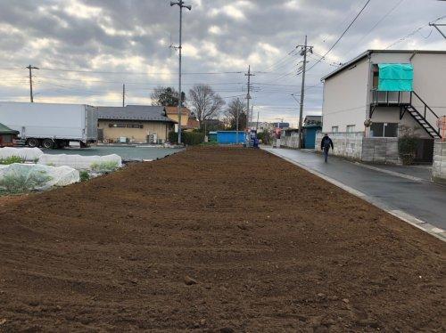 ふじみ野市駒林 軽量鉄骨 倉庫解体倉庫解体後の整地作業