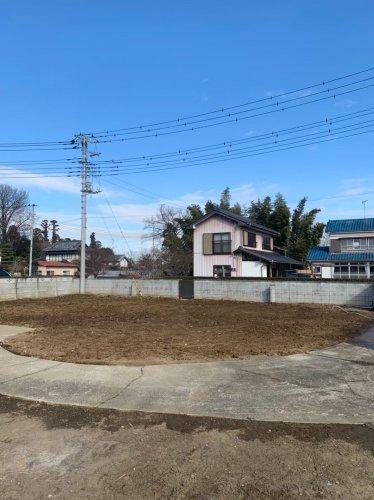 埼玉県鴻巣市赤城 木造2階建て解体工事施工完了後の土間清掃作業
