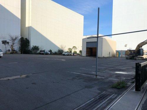 川崎市川崎区 アスファルト解体解体工事着工前