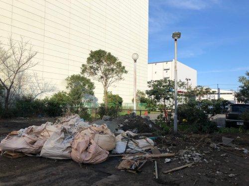 川崎市川崎区 アスファルト解体アスファルトの解体