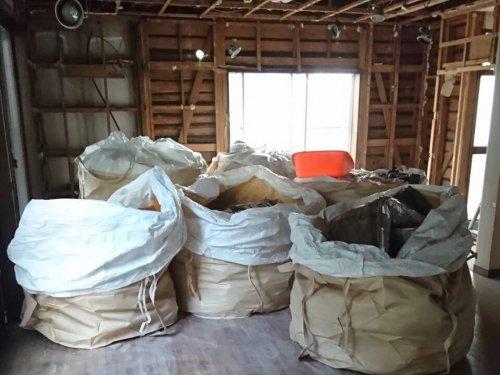 大宮区三橋 木造住宅解体内装の解体工事
