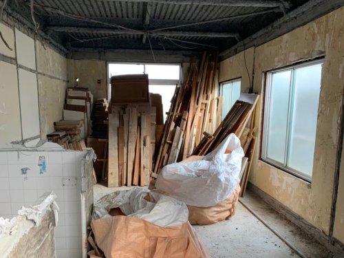 板橋区泉町 マンション解体マンションの内装解体工事