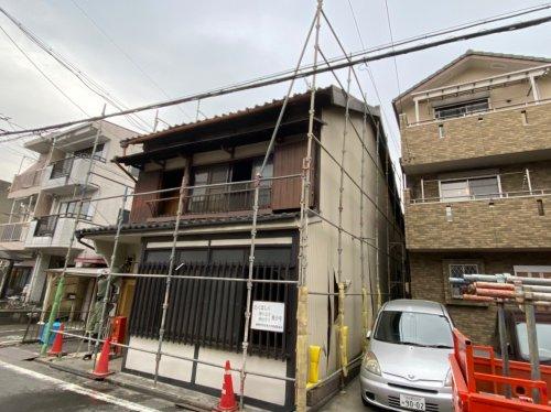 愛知県名古屋市西区則武新町の木造2階建解体工事 施工事例木造2階建住宅解体工事前の様子