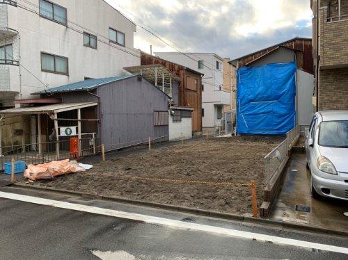 愛知県名古屋市西区則武新町の木造2階建解体工事 施工事例木造2階建住宅解体工事後の整地作業