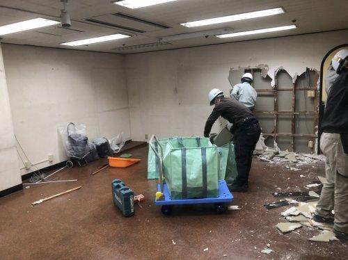 東京都中野区中野の内装スケルトン解体工事 施工事例内装スケルトン解体工事