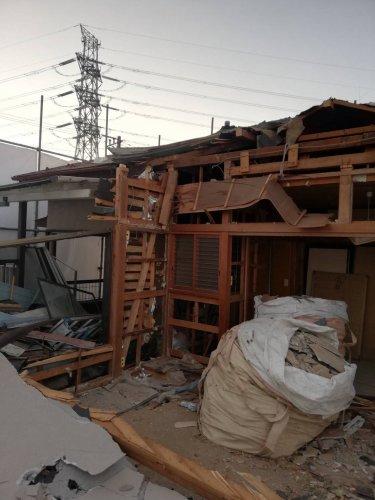 千葉県船橋市咲が丘の木造2階建住宅解体工事 施工事例木造住宅内装解体工事