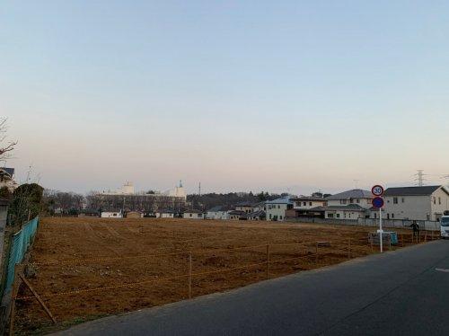 千葉県船橋市RC造団地大規模解体工事 施工事例RC造団地の大規模解体工事後の整地作業