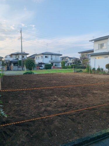 埼玉県蓮田市椿山の木造2F住宅解体工事 施工事例重機による木造住宅解体工事の整地