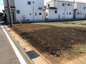 埼玉県川越市藤間の庭解体工事 施工事例
