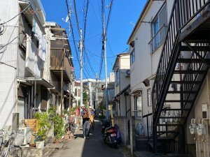 東京都目黒区の木造3棟解体工事 施工事例